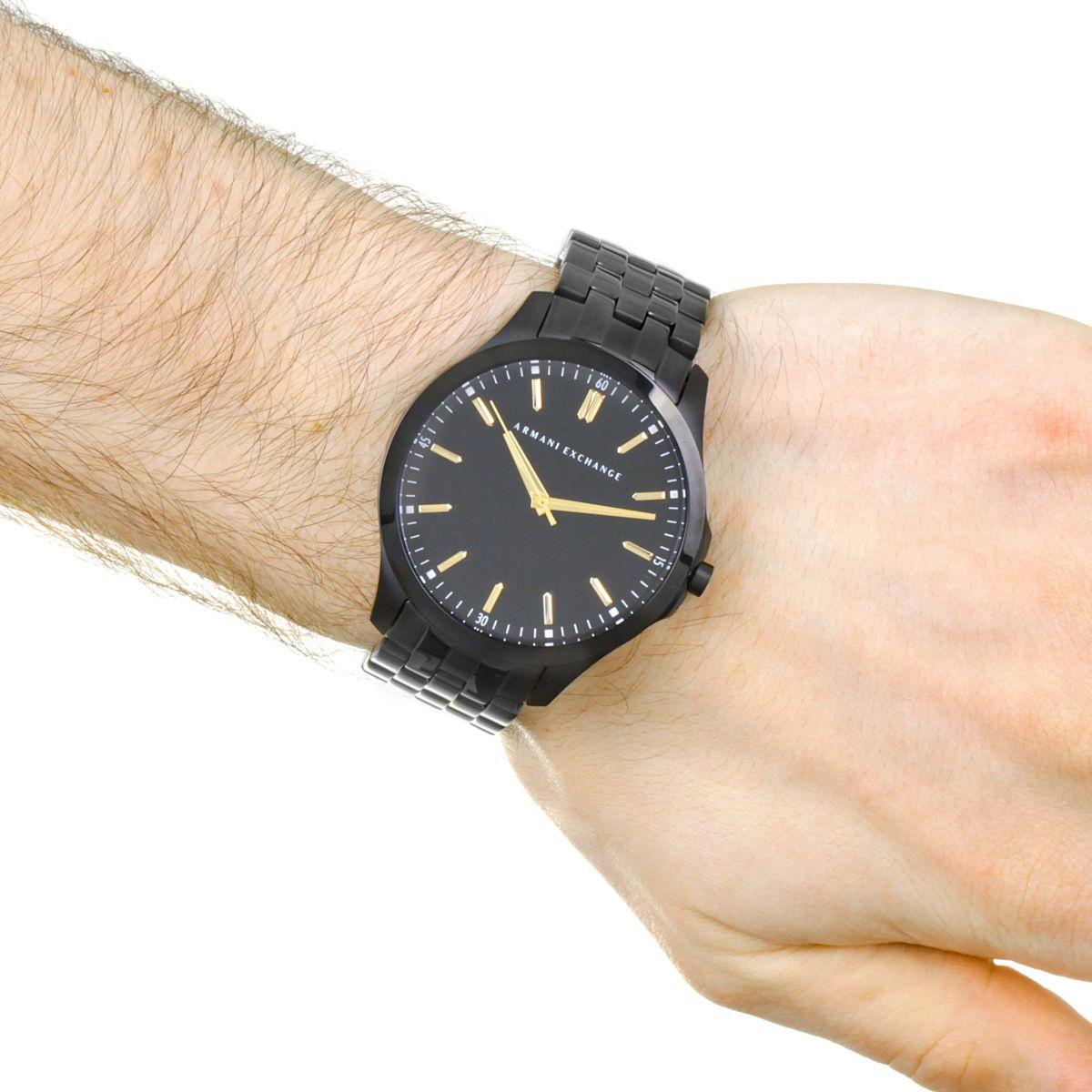 d919acf341fa Armani Exchange Reloj para Hombre Negro AX2601 ES 5724056 ...