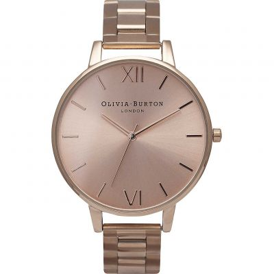 Ladies Olivia Burton Big Dial Bracelets Watch OB13BL07B