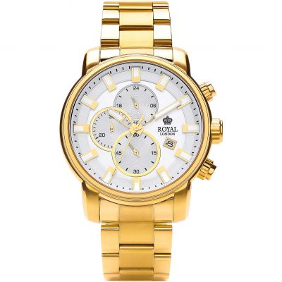 Mens Royal London Chronograph Watch 41235-08