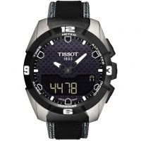 Mens Tissot T-Touch Expert Solar Alarm Chronograph Solar Powered Watch