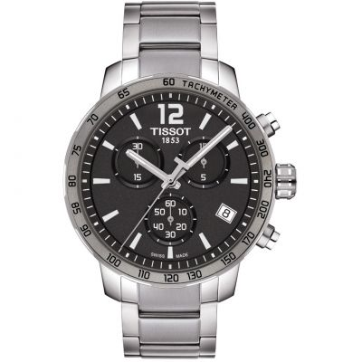 Tissot T-Sport Quickster Herrenchronograph in Silber T0954171106700