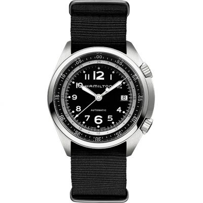 Mens Hamilton Khaki Pilot Pioneer Automatic Watch H76455733