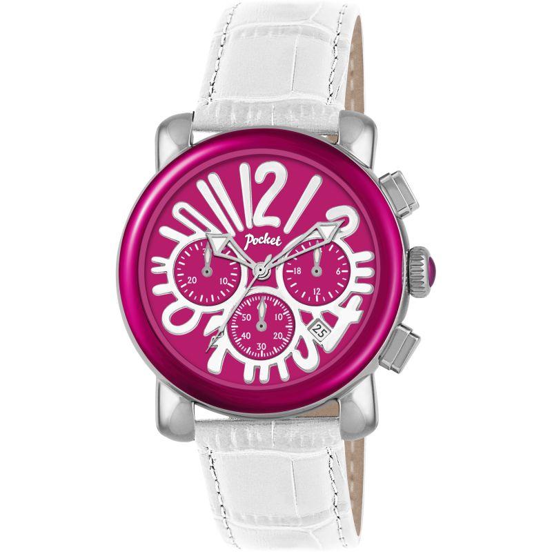 Ladies Pocket-Watch Rond Chrono Medio Chronograph Watch