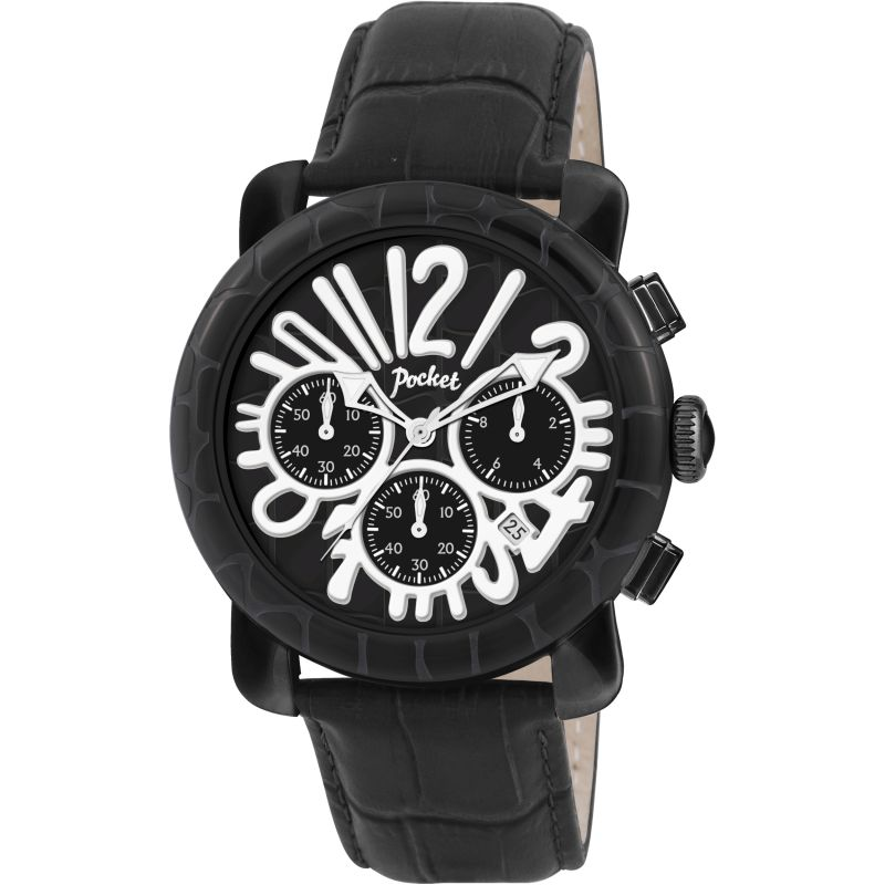Mens Pocket-Watch Rond Chrono Grande Chronograph Watch