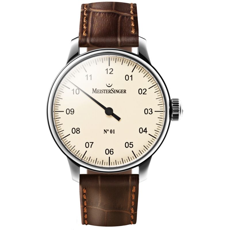 Mens Meistersinger No 01 Mechanical Watch