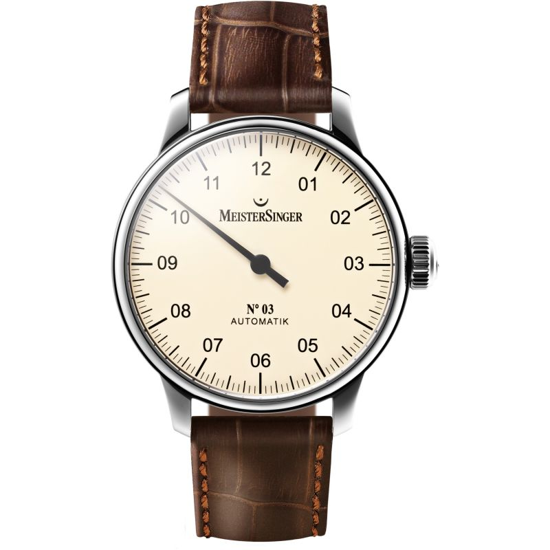 Mens Meistersinger No 03 Automatic Watch