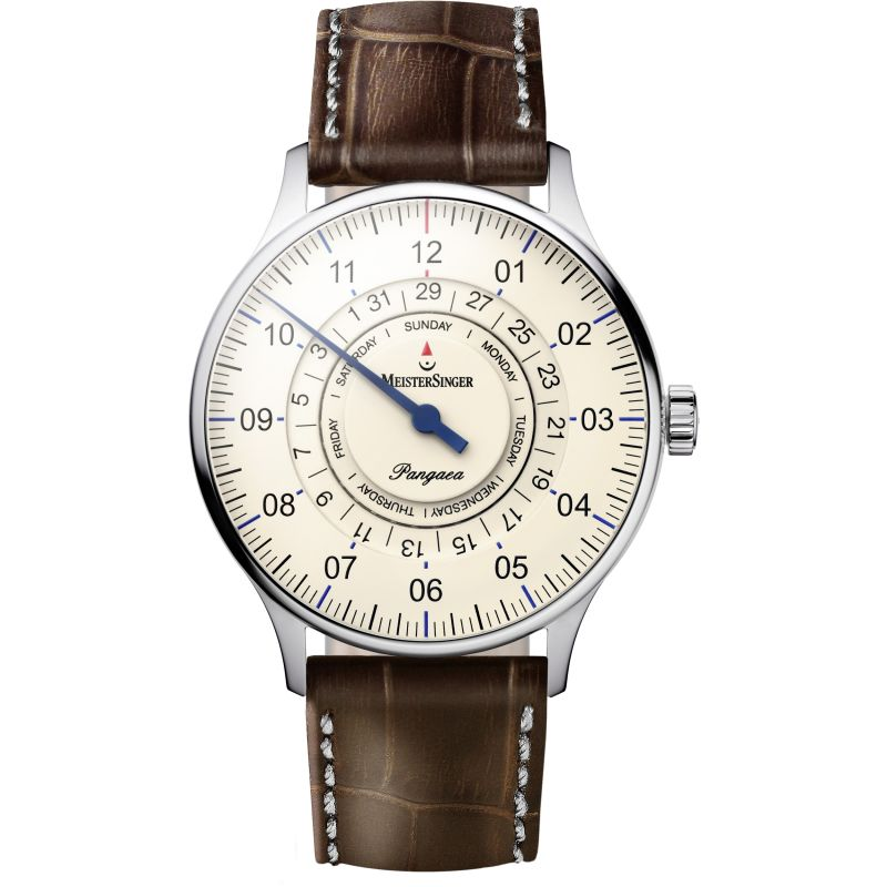 Mens Meistersinger Pangaea Day Date Automatic Watch