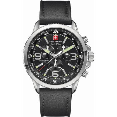 Swiss Military Hanowa Arrow Herrenchronograph in Schwarz 6-4224.04.007
