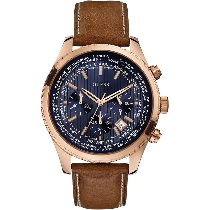 Mens Guess Pursuit Chronograph Watch