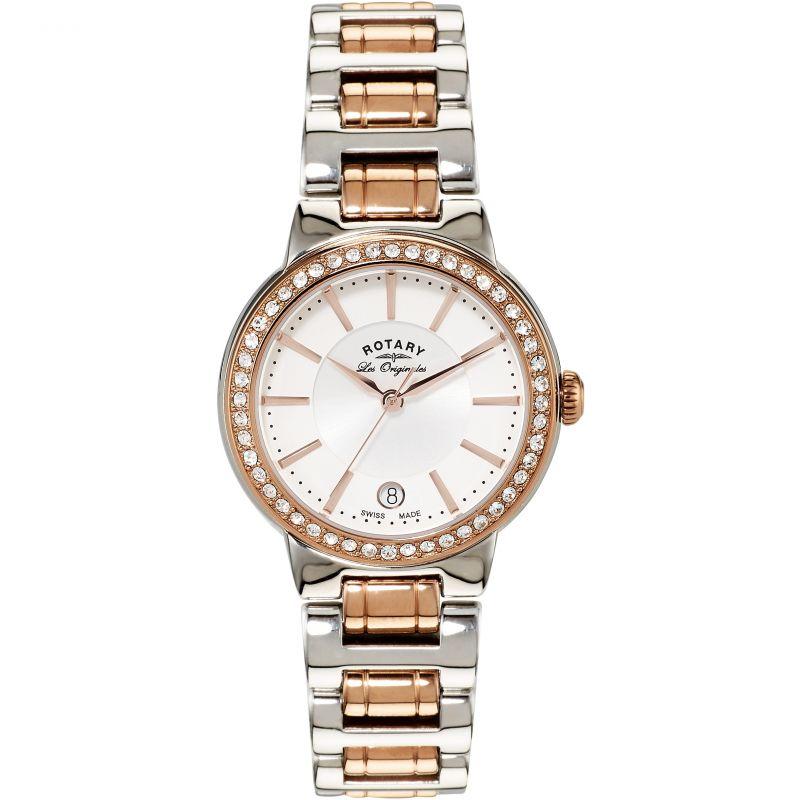 Ladies Rotary Swiss Made Lucerne Midsize Quartz Watch