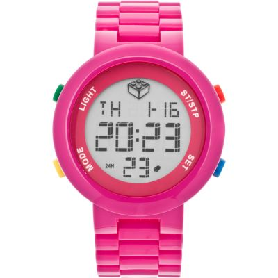 LEGO® Digifigure Pink digital adult Watch
