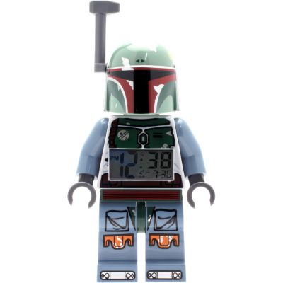 LEGO® Star Wars™ Boba Fett™ Minifigure Clock