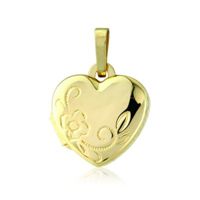 Joyería Jewellery Heart-Shaped Locket