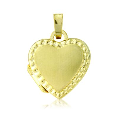 Jewellery Heart-Shaped Locket 9 karat guld