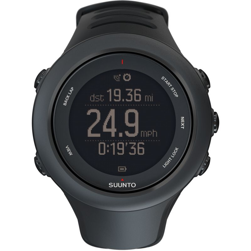 Mens Suunto Ambit 3 HR Bluetooth GPS Chronograph Watch SS020678000