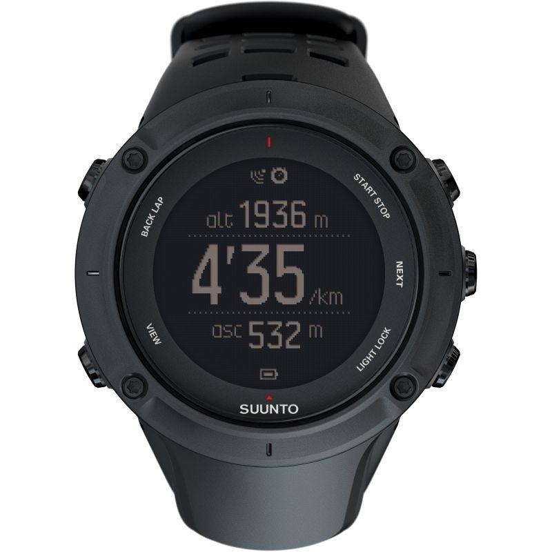 Mens Suunto Ambit 3 Peak Bluetooth GPS Chronograph Watch