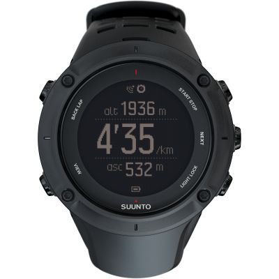 Suunto Ambit 3 Peak Bluetooth GPS Herrenchronograph in Schwarz SS020677000