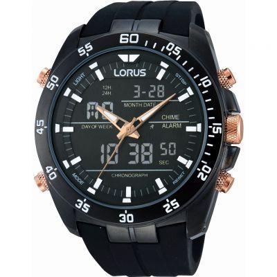 Gents Lorus Alarm Chronograph Watch Rw617ax9 Watchshop