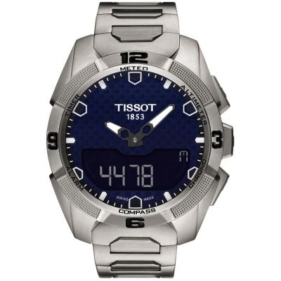 Tissot Touch Collection T-Touch Expert Solar Herrenchronograph in Grau T0914204404100