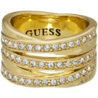 Guess Jewellery Crystal Eternity Stack Ring JEWEL