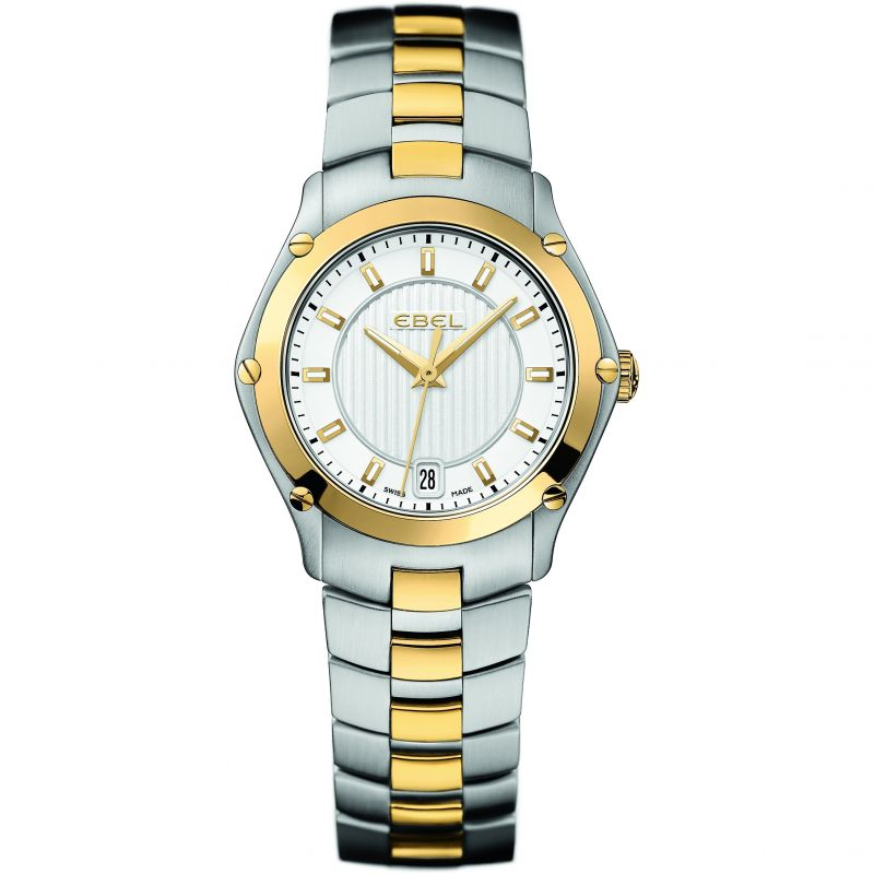 Ladies Ebel Classic Sport 18ct Gold Watch