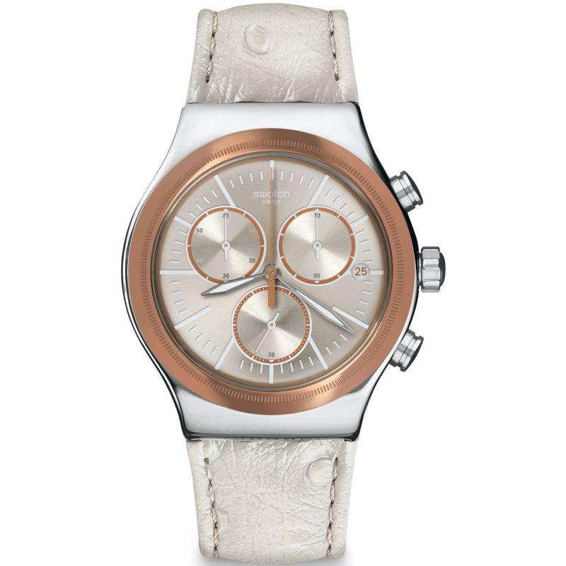 Unisex Swatch Irony Chrono - Albinostrich Chronograph Watch