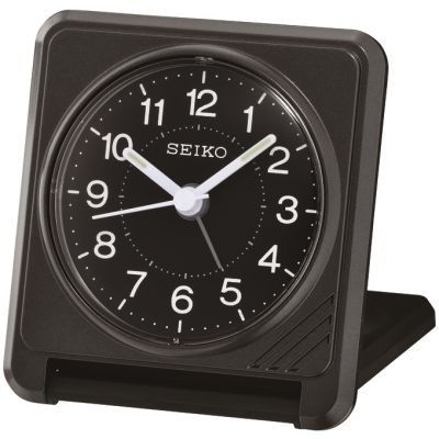 Seiko Clocks Travel Alarm Clock QHT015K