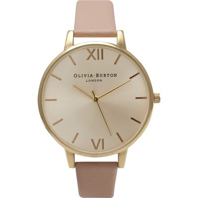 Big Dial Rose Gold & Dusty Pink Watch