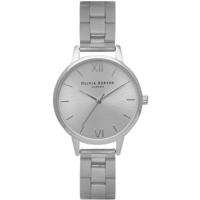Sunray Silver Bracelet Watch