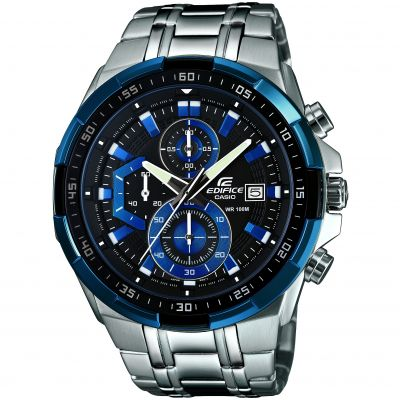 Mens Casio Edifice Chronograph Watch EFR-539D-1A2VUEF
