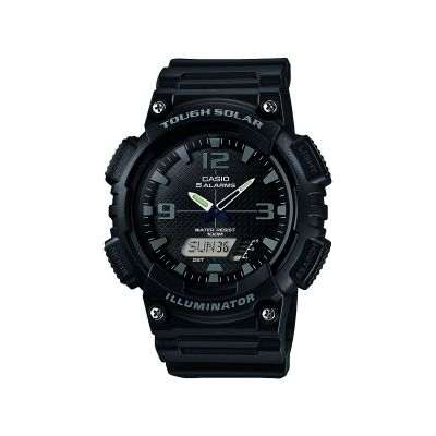 Casio Casio Collection Herrenchronograph in Schwarz AQ-S810W-1A2VEF