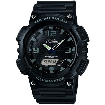 Casio Casio Collection Herenchronograaf Zwart AQ-S810W-1A2VEF