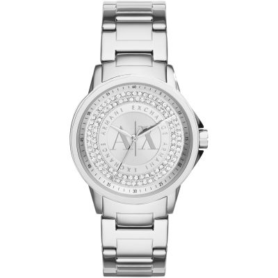 Armani Exchange Damenuhr in Silber AX4320