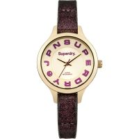 Ladies Superdry Skinny Metallic Watch SYL155P