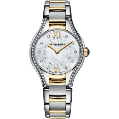Ladies Raymond Weil Noemia 24mm Diamond Watch 5124-SPS-00985