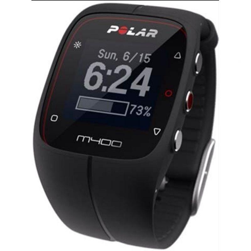 Unisex Polar M400 Bluetooth GPS Activity Tracker Heart Rate Bundle Alarm Chronograph Watch