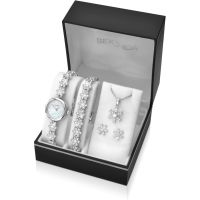 Ladies Sekonda Necklace Earring and Bracelet Gift Set Watch 2087G