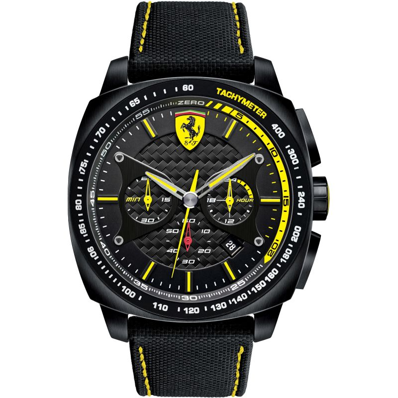 Mens Scuderia Ferrari Aero Evo Chronograph Watch