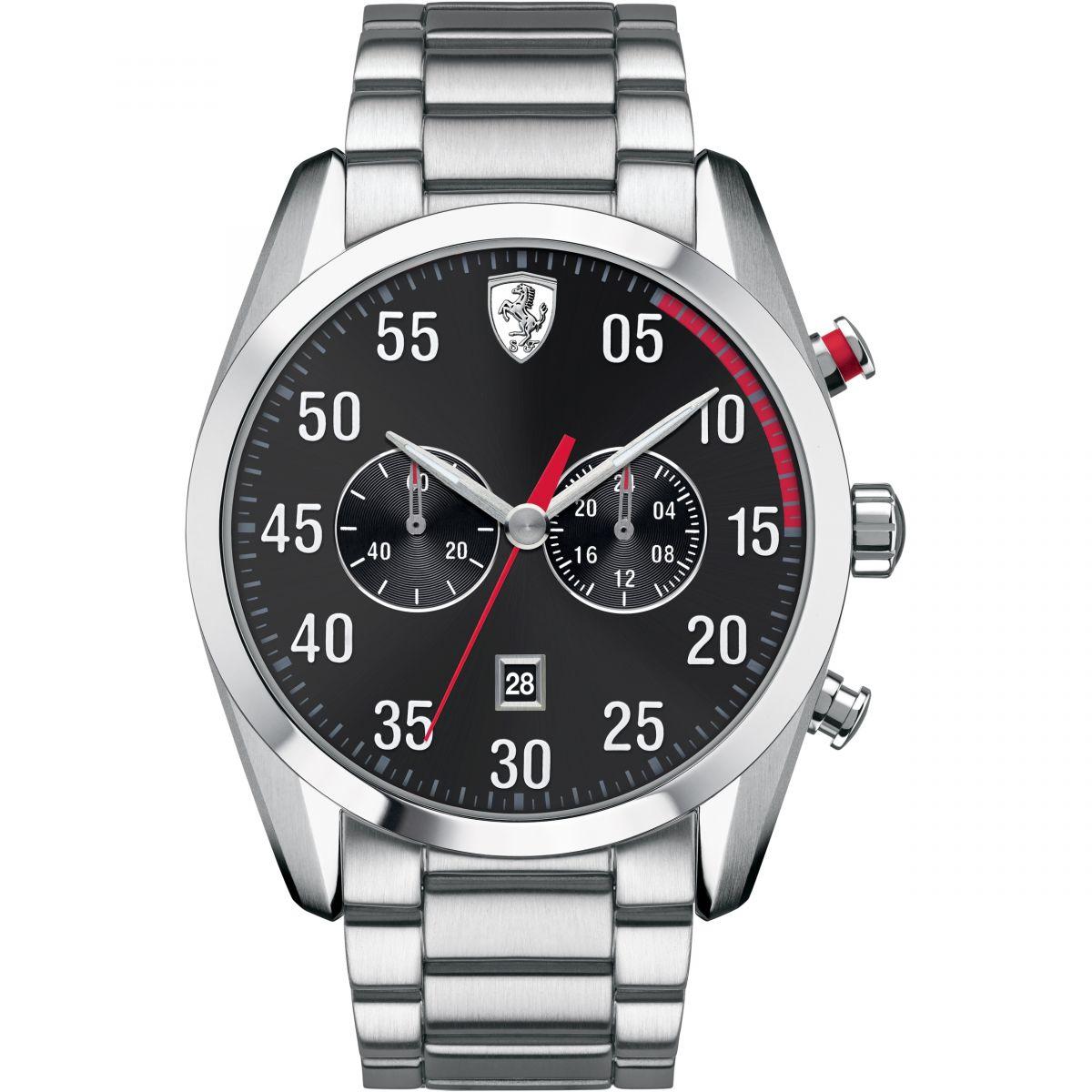 herren ferrari premio mens automatikuhr product watch scuderia en gran automatic image