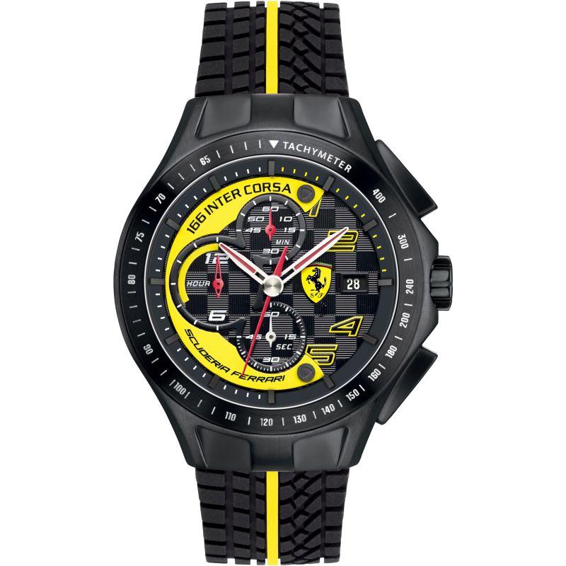 Mens Scuderia Ferrari Race Day Chronograph Watch
