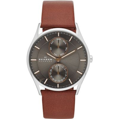 Skagen Holst Herrenuhr in Braun SKW6086
