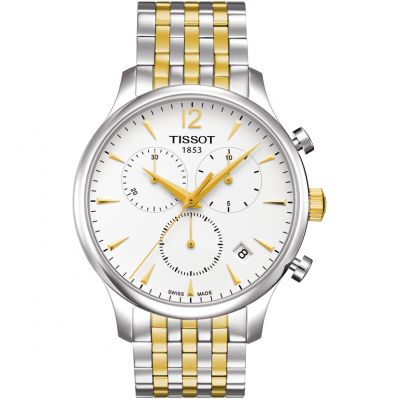 Mens Tissot Tradition Chronograph Watch T0636172203700