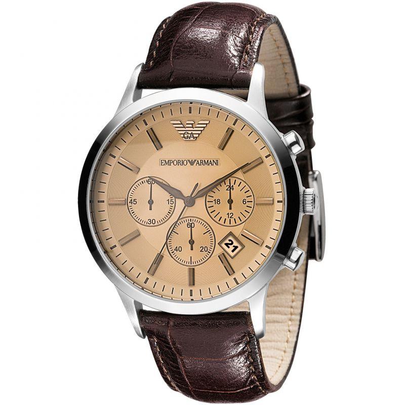 more photos best quality exclusive range Mens Emporio Armani Chronograph Watch AR2433