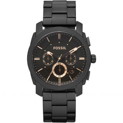 Fossil Machine Herrenchronograph in Schwarz FS4682