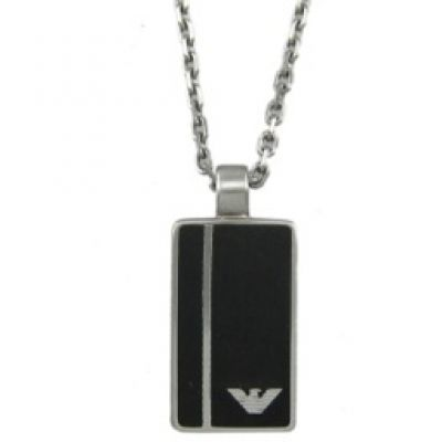 Mens Emporio Armani Stainless Steel Necklace EGS2031040