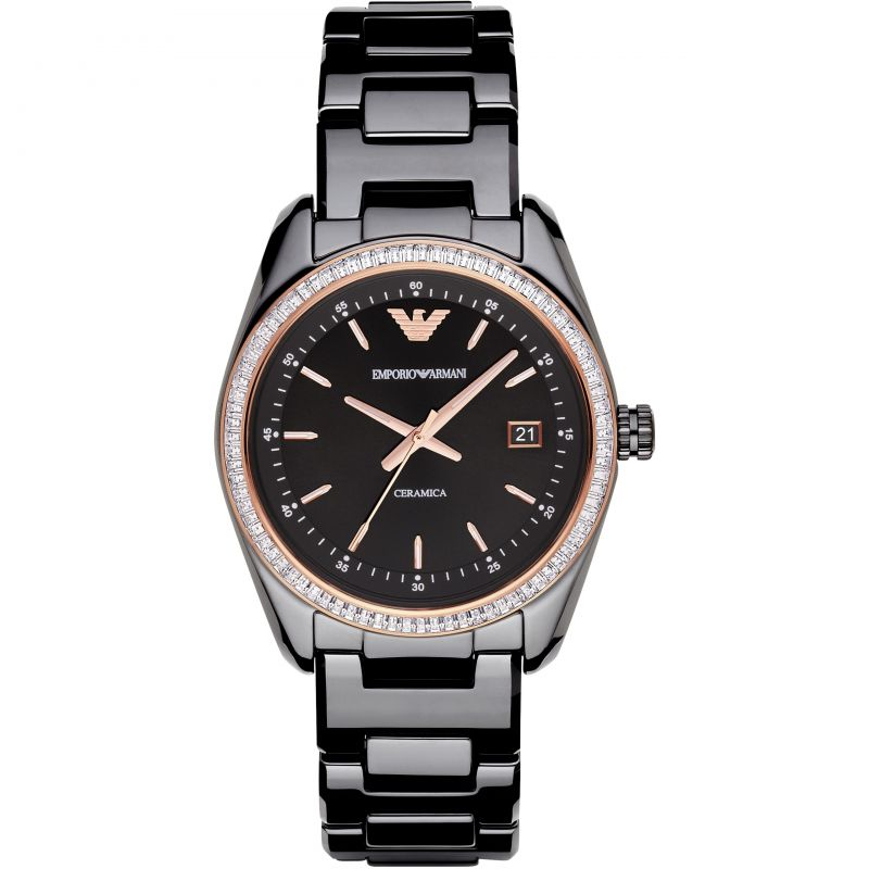 Ladies Emporio Armani Ceramic Watch