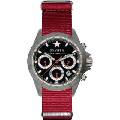 Mens Oxygen Chrono Chronograph Watch EX-C-SPR-42-NN-RE
