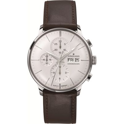 Mens Junghans Meister Chronoscope Automatic Chronograph Watch 027/4120.01