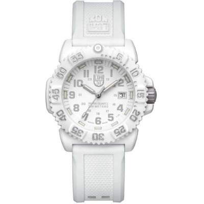 Orologio da Unisex Luminox Navy Seal Colormark 7050 Series 38mm Whiteout A7057.WO