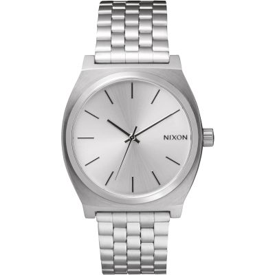 Nixon The Time Teller Unisexklocka Silver A045-1920